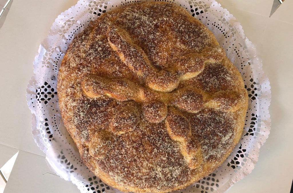 Nuestro delicioso PAN DE MUERTO